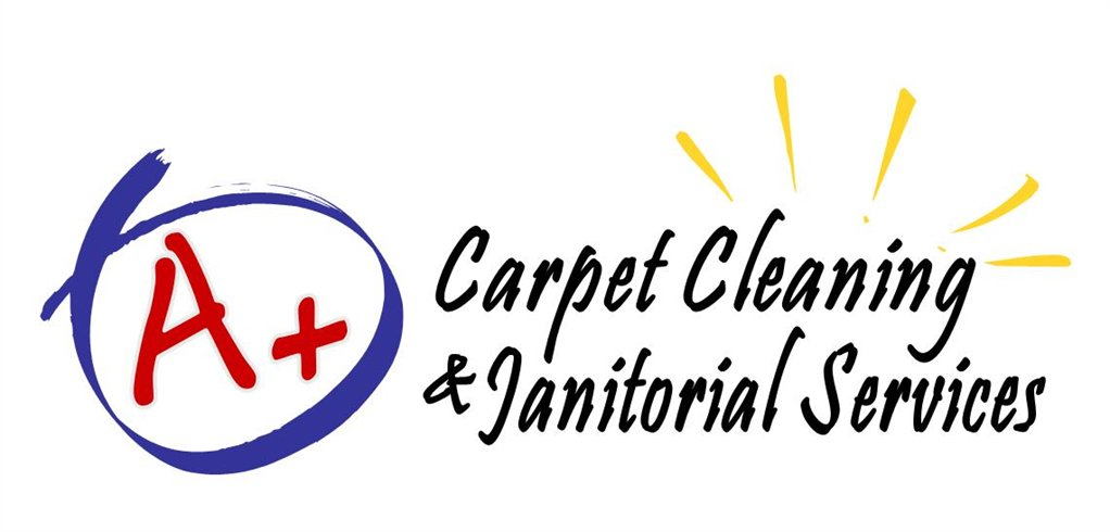A+ Carpet Cleaning and Janitorial Services Logo