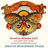 Arwine Media Services Logo